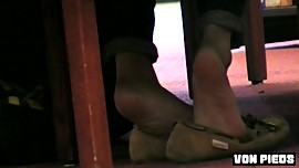 Sexy Asian Soles Candid