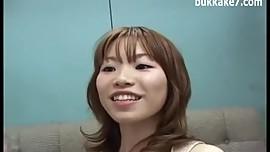 Japan Girl Cum Facialized
