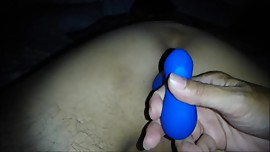 Asian Fingers and Plugs Her Man