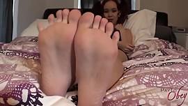 Amai Liu Feet