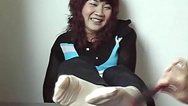 Chinese Thin Sock Tickling
