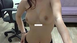 WinkTV Korean BJ Semi (세미) stripping on webcam 19