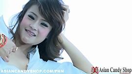 Asian Pornstar Hannah Lee Sexy Tease