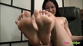 Asian Foot JOI Domination