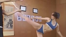 Hot Taekwondo Girl - Akane Yamano