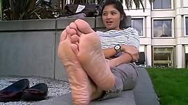 Stinky Asian Feet