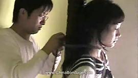 Chinese model bondage