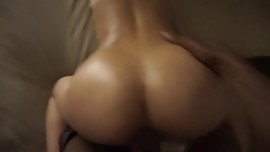 Big Booty Asian gets BBC doggystyle