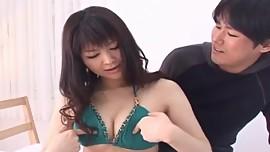 Haruna Ayase has hairy pussy fucked like hell