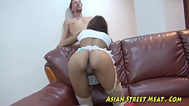 Asian Bum Babe Pickup Freak
