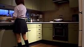 Michiru Tamaki is fucked next to gal and shares boner with h
